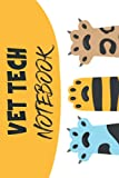 vet tech notebook: Notebook for veterinarian or veterinary students, can also be used by students who love cats and can be given as a gift for ... this notebook is for all cat lovers