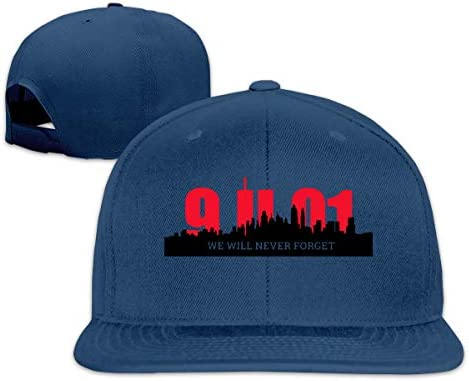 ONGH We Will Never Forget 9-11 Denim Hat Adjustable Female Cute Baseball Hats