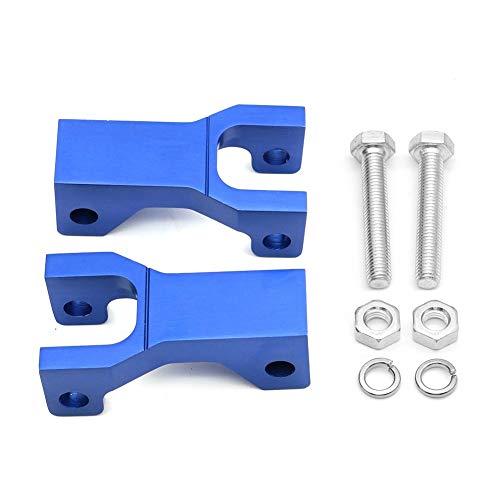 XIXI-Home 3.5' Frente Bajando Kit CNC Gota Soporte de Aluminio ATV Partes aptas for Kawasaki Suzuki Arctic Cat DVX400 KFX400 ltz400 LTZ 400 DVX KFX (Color : Blue)