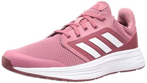 adidas Womens Galaxy 5 Running Shoe, Tramar Ftwwht Legred, 39 1/3EU