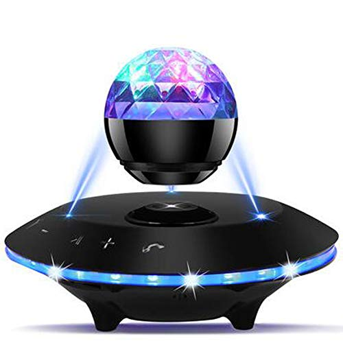 Best Prices! XZYP Magnetic Levitating Double Sound Speaker,Bluetooth 4.0 Wireless Floating Speakers ...