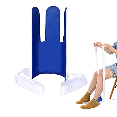 Antdvao Socks Aid, Flexible Socks Assist Device, Can Help People with Low Back Pain, Knee Pain or Injury, Wearing Socks Quickly Without Bending Over, Socks Helper