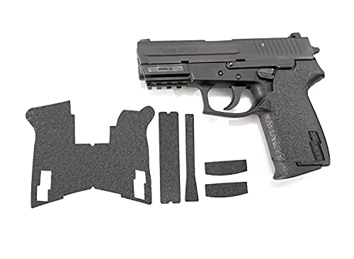 Handleitgrips SIG SAUER SP2022 Gun Grip Enhancement Gun Parts Kit, Black