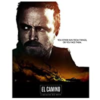 El Camino A Breaking Bad Movie-Bearded man Canvas Painting Wall Art Poster and Prints Pictures for Living Room Decor Print on canvas 50x70cm unframed