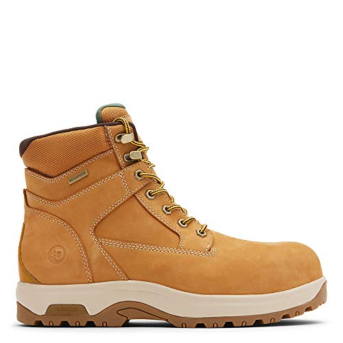Dunham 8000 Works Safety 6' Boot Men's Boot 10.5 4E US Wheat
