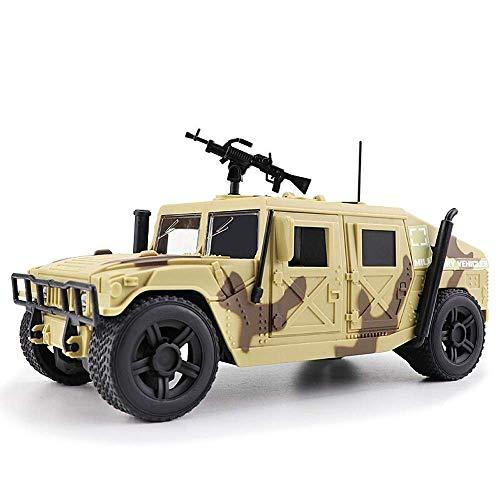 AIOJY Simulation Militärspielzeug Trägheitsmodelle aus Metalldruckguss Panzer Panzerwagen Öffnungstüren mit Sound und Licht Pullback-Aktion Detailliertes Innenmodell 3 Jahre altes Kindergeburtstagsges