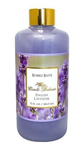 Camille Beckman Bubble Bath 13 oz - English Lavender Scent by Camille Beckman