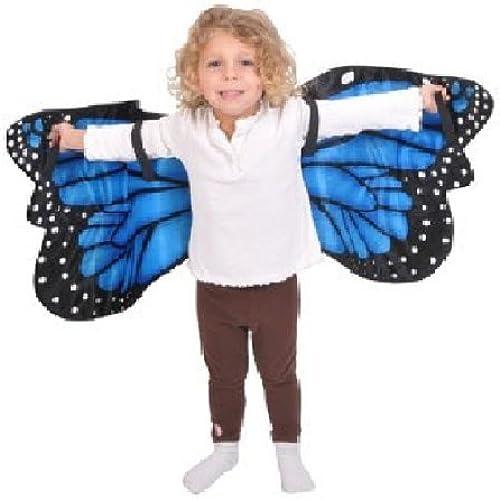 Todo en alta calidad y bajo precio. azul Morpho Butterfly Plush Costume Wings By Adventure Kids by by by RINCO  más descuento