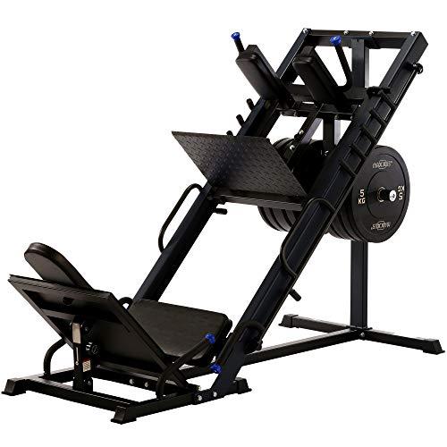 Maxxus® 2in1de prensa y muslos eléctrica. Marco de acero muy Massive construcción. Una pierna Prensa en Solider Calidad para deportistas exigentes.