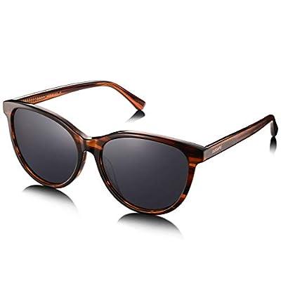 AVAWAY Retro Polarisierte Sonnenbrille