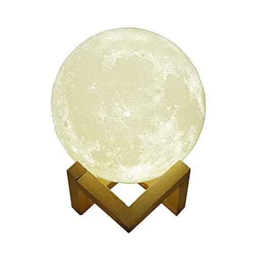 YYZLG Mondlicht Lautsprecher kreatives Geschenk bunt Mini Nachttisch LED Tischlampe Mondlicht Telefon Bluetooth Audio