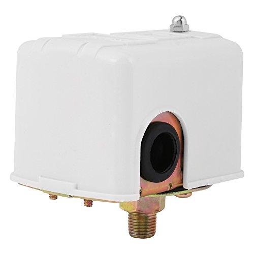 Wasserpumpendruckschalter, Brunnen Wasserpumpenteile Zweipolig Einstellbarer Druckschalter, Speziell für Wasserpumpe (1 Stück)
