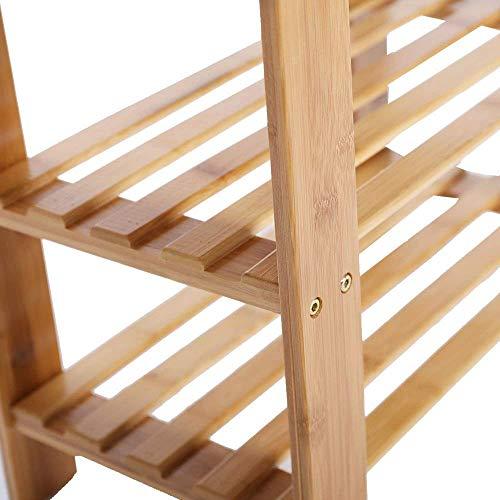KARMAS PRODUCT 2-Tier Shoe Bench Organizing Storage Shelf