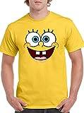 The Fan Tee Camiseta de Hombre Bob Esponja Calamardo Spongebob 003 L