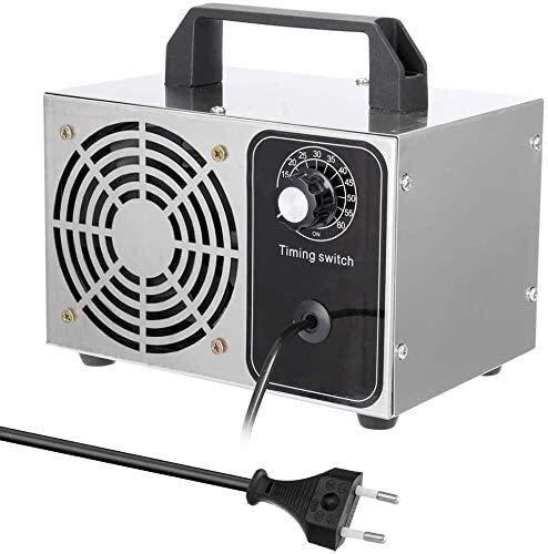 DKee Purificador de Aire Generador De Ozono 28 G/H, Purificador De Aire Portátil Casa De Desinfección, La Capa De Ozono De La Máquina Y Purificador De Aire Que Refresca For El Hogar, Oficina, Hotel,