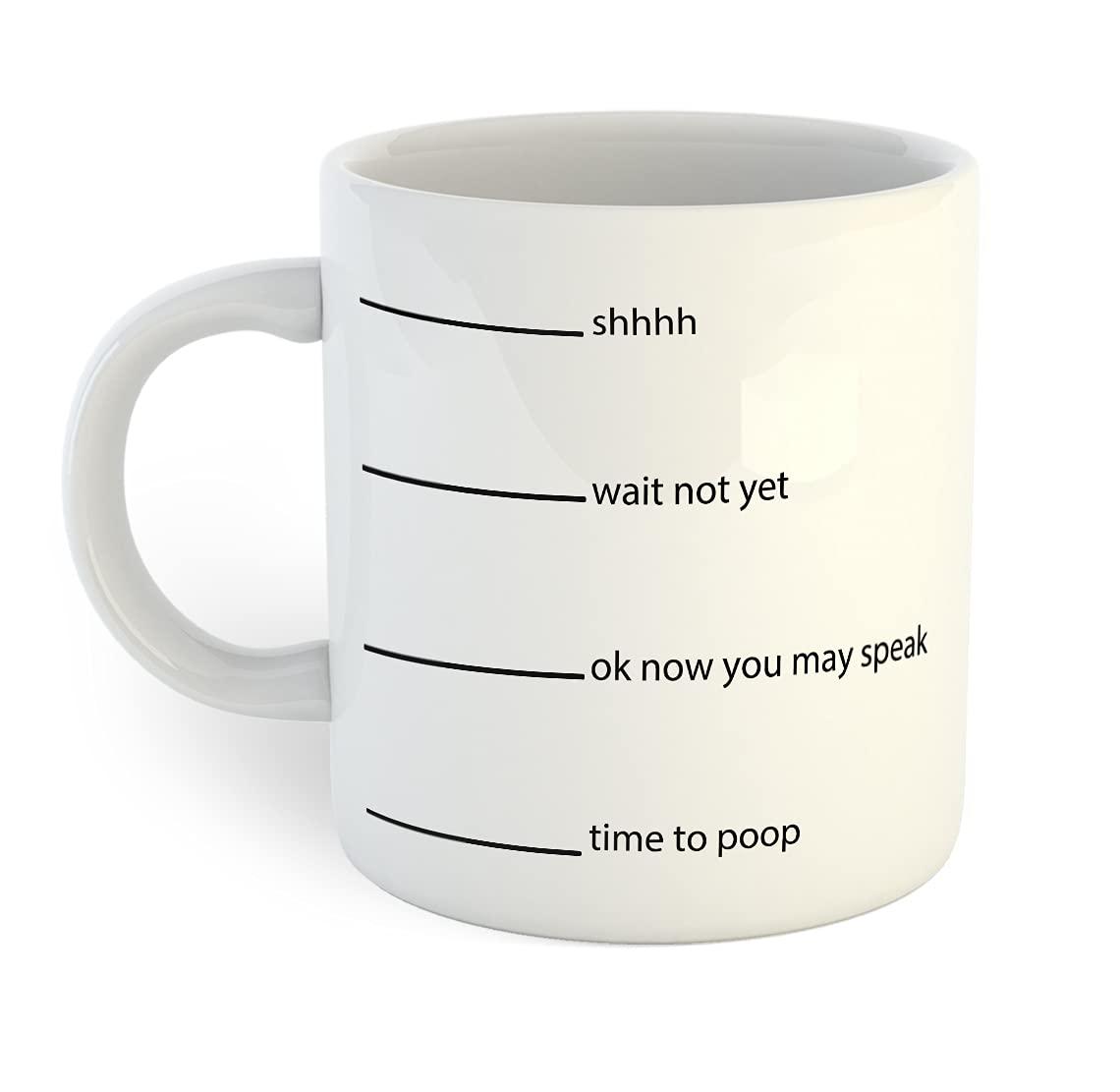 Time to Poop Superlatite Indefinitely Mug Coffee