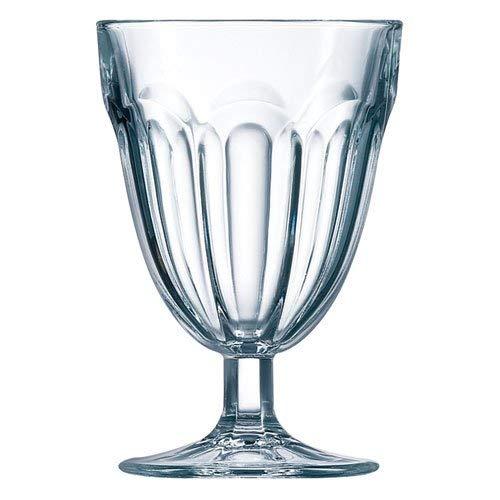 Luminarc Roman - Juego de 3 copas de vidrio (21 cl)