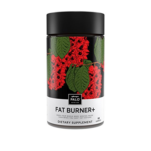 Fat Burner Natural Pills Thermogenic, Energy Booster, Appetite Suppressant Supplement for Weight Loss and Healthy Metabolism Support with Green Tea, Guarana, Caralluma Fimbriata by PALO