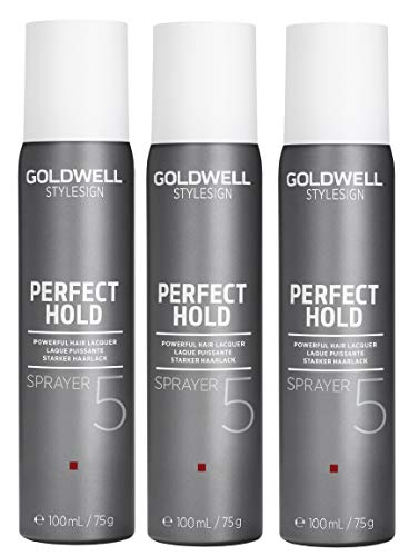 3er Perfect Hold Starker Haarlack Goldwell Stylesign Sprayer 100 ml