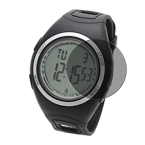 Vaxson Protector de Pantalla de Privacidad, compatible con LAD WEATHER lad011 Smartwatch smart watch [no vidrio templado] TPU Película Protectora Anti Espía