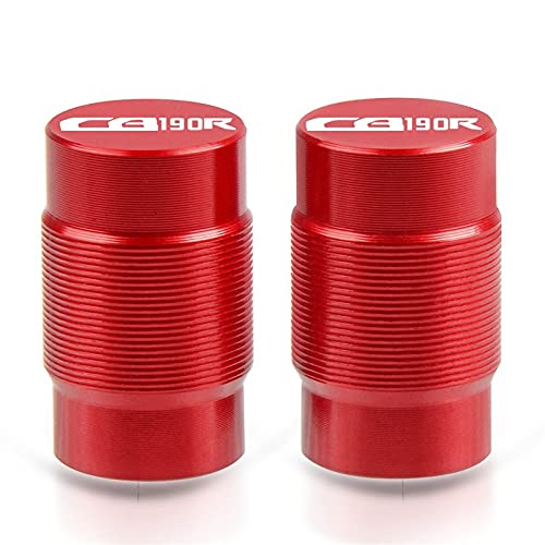 Tapa de llenado de aceite para motocicleta, accesorios de aluminio, para válvula de neumáticos, para Honda CB190R CB 190R CB190 R 2015-2018 2016 2017 (color: rojo)