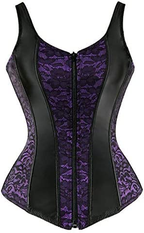 Louisville-Jefferson County Mall NJJX Tops Corset Bustier Red Black And Now on sale With Satin Straps