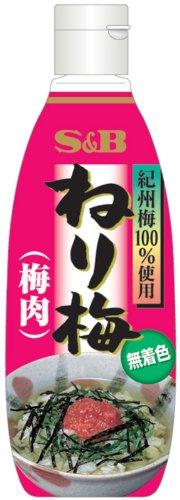 S&B ねり梅(無着色) 310g