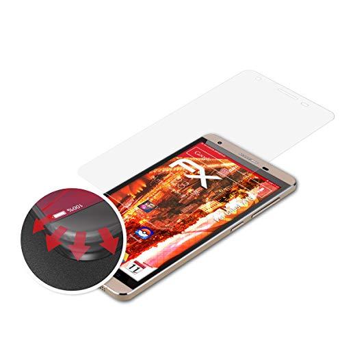 atFolix Schutzfolie kompatibel mit Cubot X15 Folie, entspiegelnde & Flexible FX Bildschirmschutzfolie (3X)