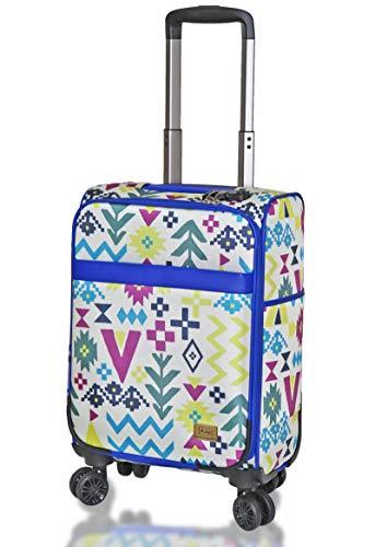 (キウ) kiu スーツケース TSAロック ソフトキャリーケース Mサイズ 20インチ Sサイズ 18インチ スーツケース 軽量 機内持ち込み 旅行 出張 (M 20インチ, キャンプ)