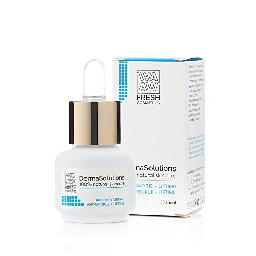 Wawa Fresh Cosmetics, Face Booster Anti-rides & Lifting, Derma Solution, soin 100% naturel, 15 ml