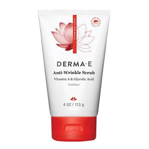 DERMA-E Anti Wrinkle Scrub With Glycolic Acid, 4 Oz (483)