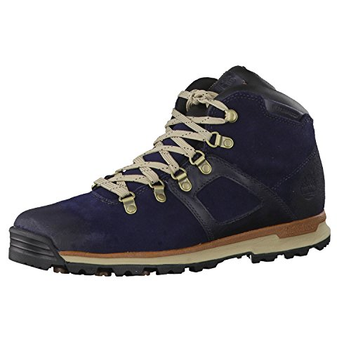 Timberland Herren GT Scramble Leather Waterproof Chukka Boots, Blau (Navy), 42 EU