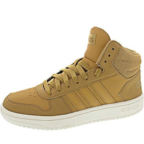 adidas Hoops 2.0 Mid, Zapatillas de básquetbol para Hombre, St Tan St Tan Raw Desert, 48 EU