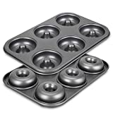 Best Donut Pans - Donut Pan for Baking, Non-Stick 6-Cavity Donut Pans Review