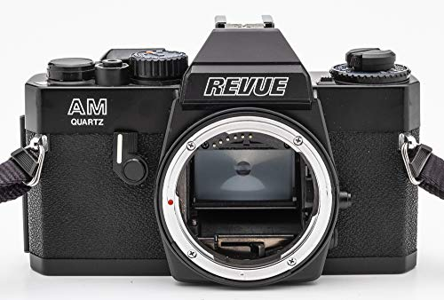 Revue AM Quartz SLR Kamera Spiegelreflexkamera (Gehäuse ohne Objektiv/Body Without Lens)