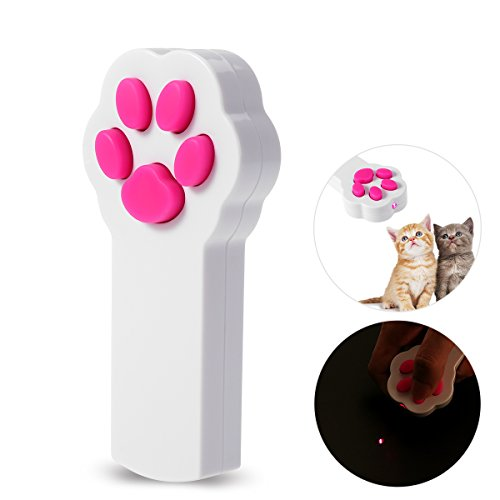 UEETEK Patte Style chat Catch l'Interactive LED lumière pointeur exercice Chaser jouet animal...