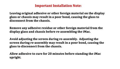 OWC DIYIMACGEN General Servicing Kit para Todos Apple Imacs 2007 y posteriores.