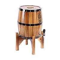 ワインとのオーク樽を冷却生ビールステンレススチールライナーワインを保存するための垂直ワイン樽は、バーラック (Color : C-3L)