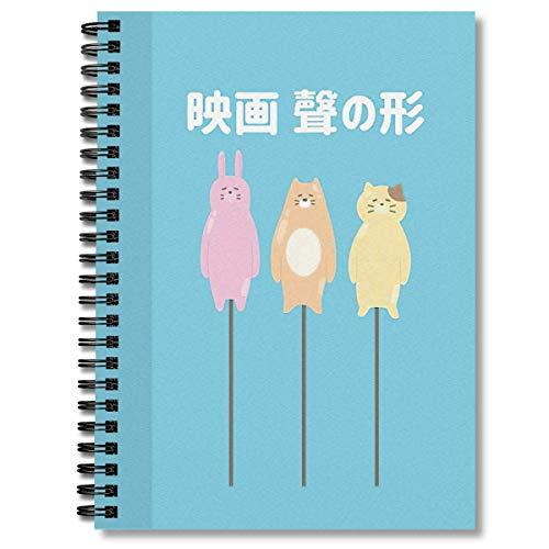 Spiral Notebook Koe No Katachi Nish…