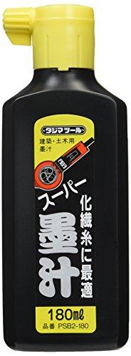 タジマ スーパー墨汁 180ml PSB2-180