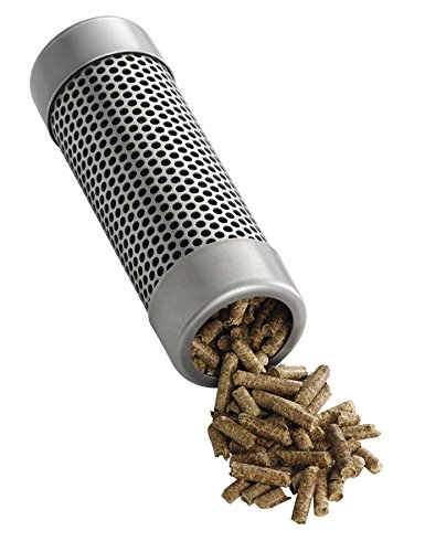 A-Maze-N AMNTS6PF Round Pellet Tube Smoker Prefilled with 100% Wood Apple BBQ Pellets, 6 Inch