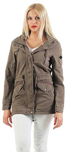 ONLY - Leena - Spring Parka Damen Jacke - Sommer, Farbe:Falcon;Größe:XL