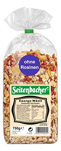 Seitenbacher Müsli Energy-Müsli, 3er Pack (3 x 750 g Packung)