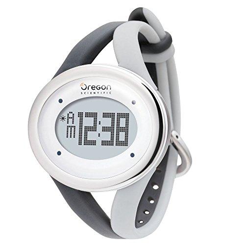 Oregon Scientific SE336 Herzfrequenzmesser Touch Line Silber-Grau
