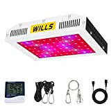 LED Grow Lights 600W, WILLS Upgraded Full Spectrum LED Plant Growing Lamp with Veg & Bloom Switches for Indoor Plants Greenhouse Hydroponics Growing (10W 60PCs)