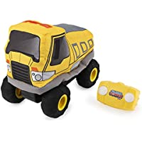 Plush Power RC, Remote Control Dump-Truck with Soft Body and 2-Way Steering, for Kids Aged 3 and Up