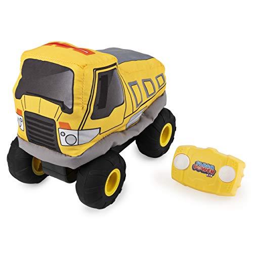 Pluche Power 6055122 RC, Afstandsbediening Dump Truck met Zacht Lichaam en 2-weg Stuurinrichting, voor kinderen leeftijd 3 en hoger, Multi kleuren