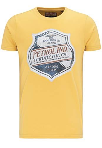 Petrol T Shirt Manica Corta uomo Industries Rossa