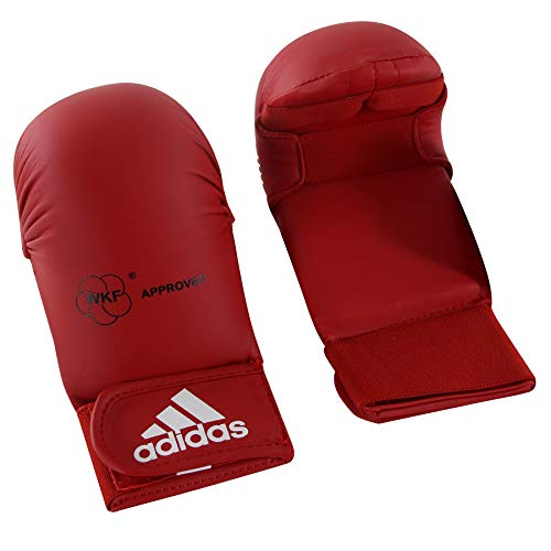 Handschuhe Faustschützer für Karate/fit-boxe Adidas rot WKF zugelassen