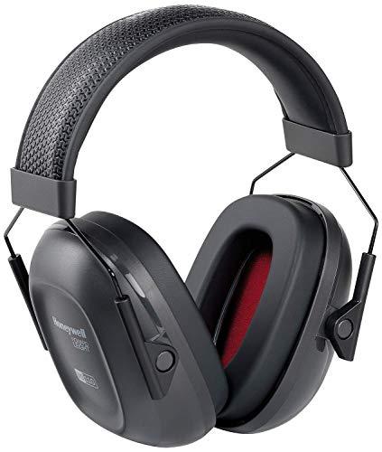 Howard Leight Verishield - Passieve gehoorbescherming voor industrie & schietsport 27 dB (leichte Dämmung) zwart/rood